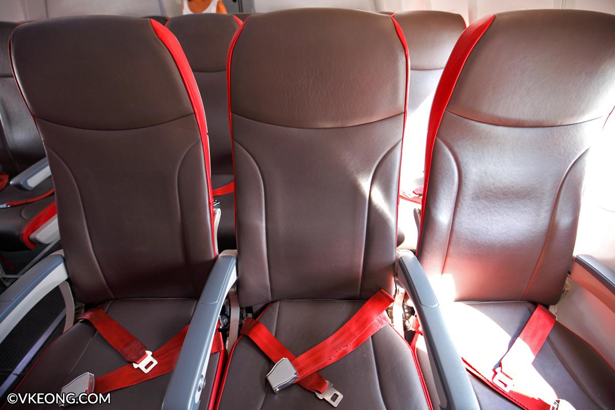Malindo Air Seats