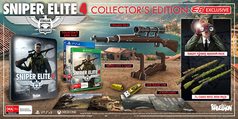 Sniper Elite 4 Collector's Edition