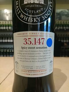 SMWS 35.147 - Spicy sweet sensation