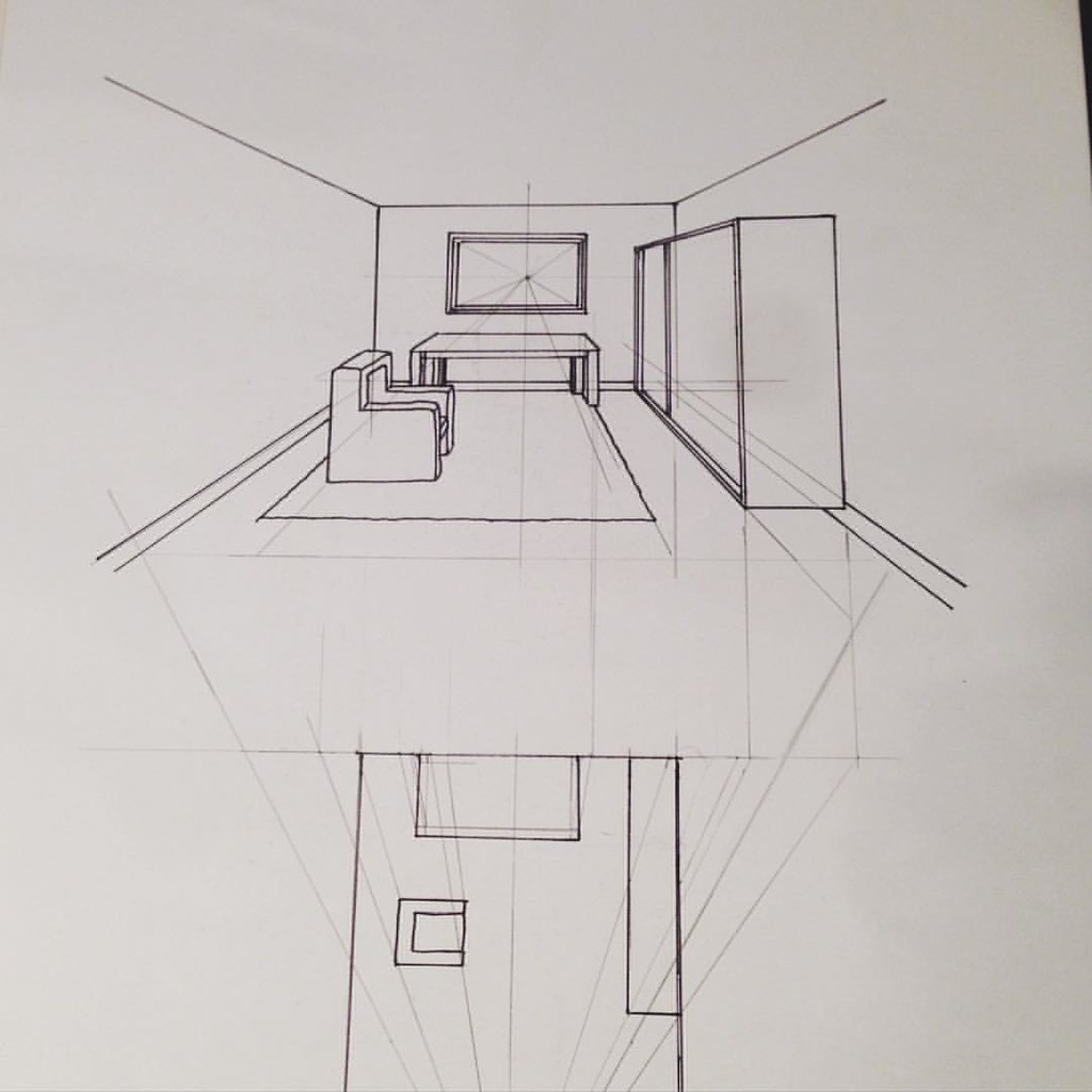 Beautiful Interior Design Drawings Perspective Result For How To
