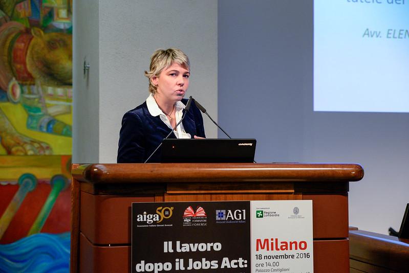 """Convegno """"Jobs Act"""" - Milano 18 novembre 2016"""