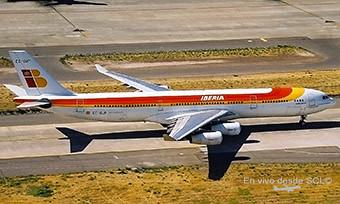 Iberia A340-300 EC-GUP SCL (RD)