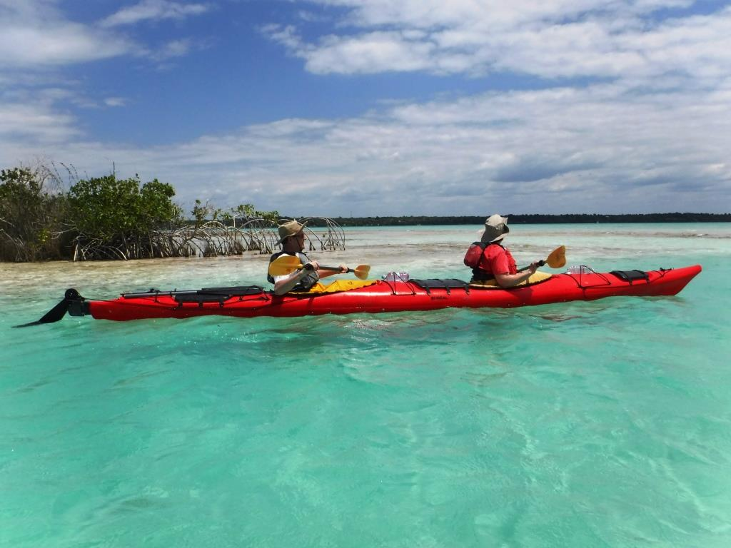 Bacalar. Kayak . Mexique Decouverte.com