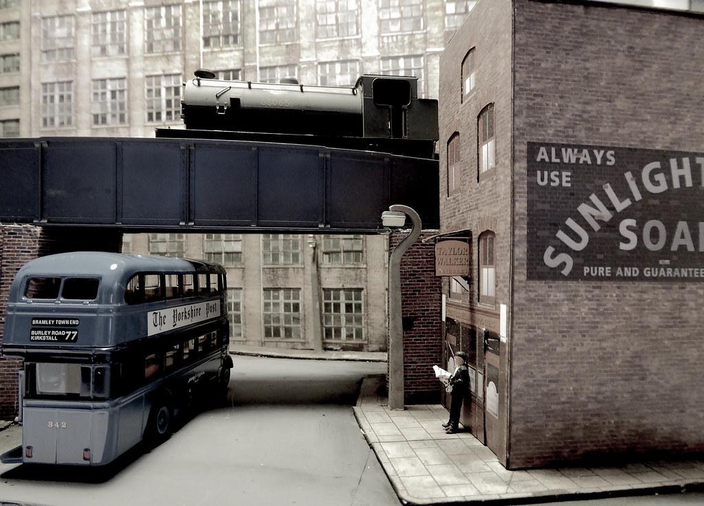 Factory Bridge Leeds 1950