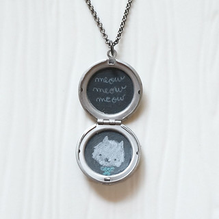 meow-meow-meow-locket-1 | by sugar-cookie