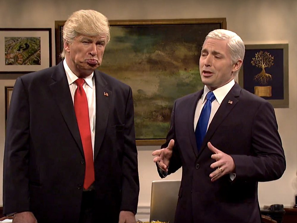 SNL: Alec Baldwins Trump Mocks Mike Pence Over Hamilton Episode, But This Joke Isnt Funny Anymore
