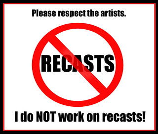 Reminder: I am ANTI-RECAST. | by elisa_maza