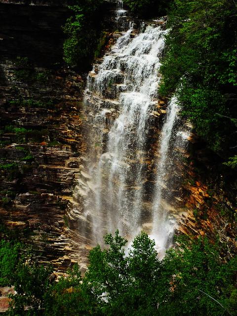 Verkeerder Kills Falls, Minnewaska State Park, New York, USA