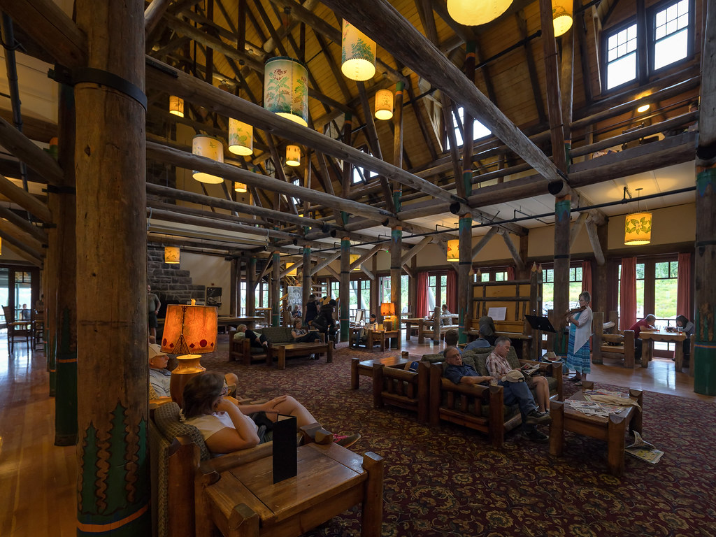 Lobby des Paradise Inn