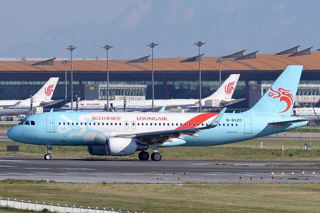 B-8320 Airbus A320 214 Zhejiang Loong Airlines