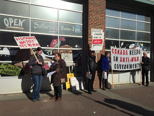 ECAWAR Oct. Info Picket: Repeal Bill C-51