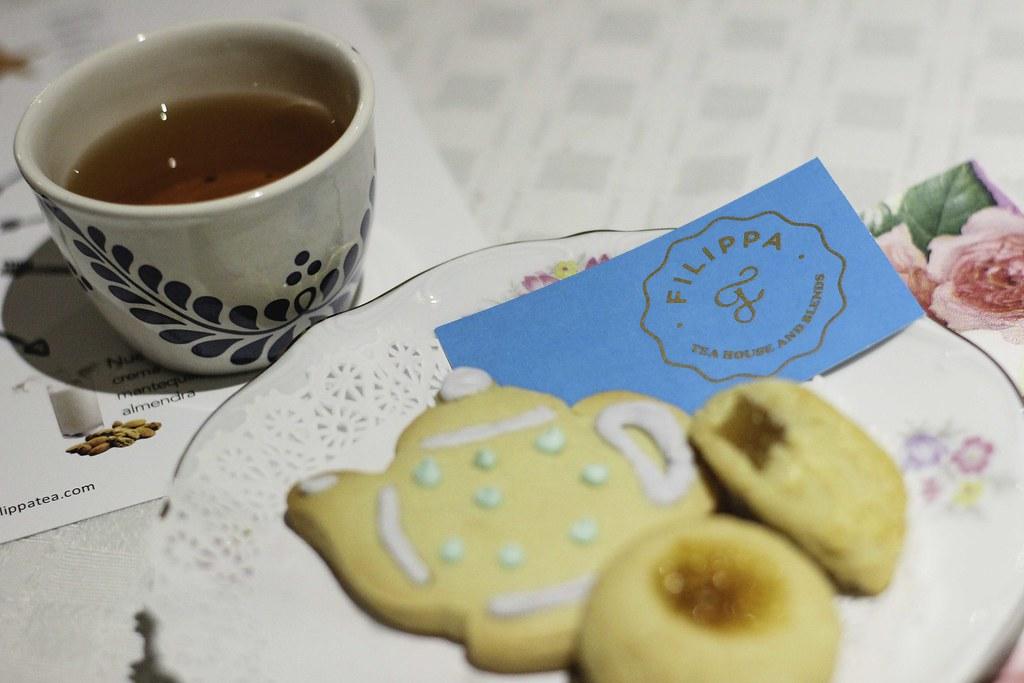 Cata de tés con Filippa para odd Catrina