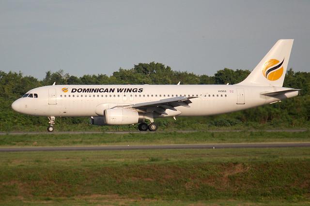 HI968. A-320. Dominican Wings. SDQ.