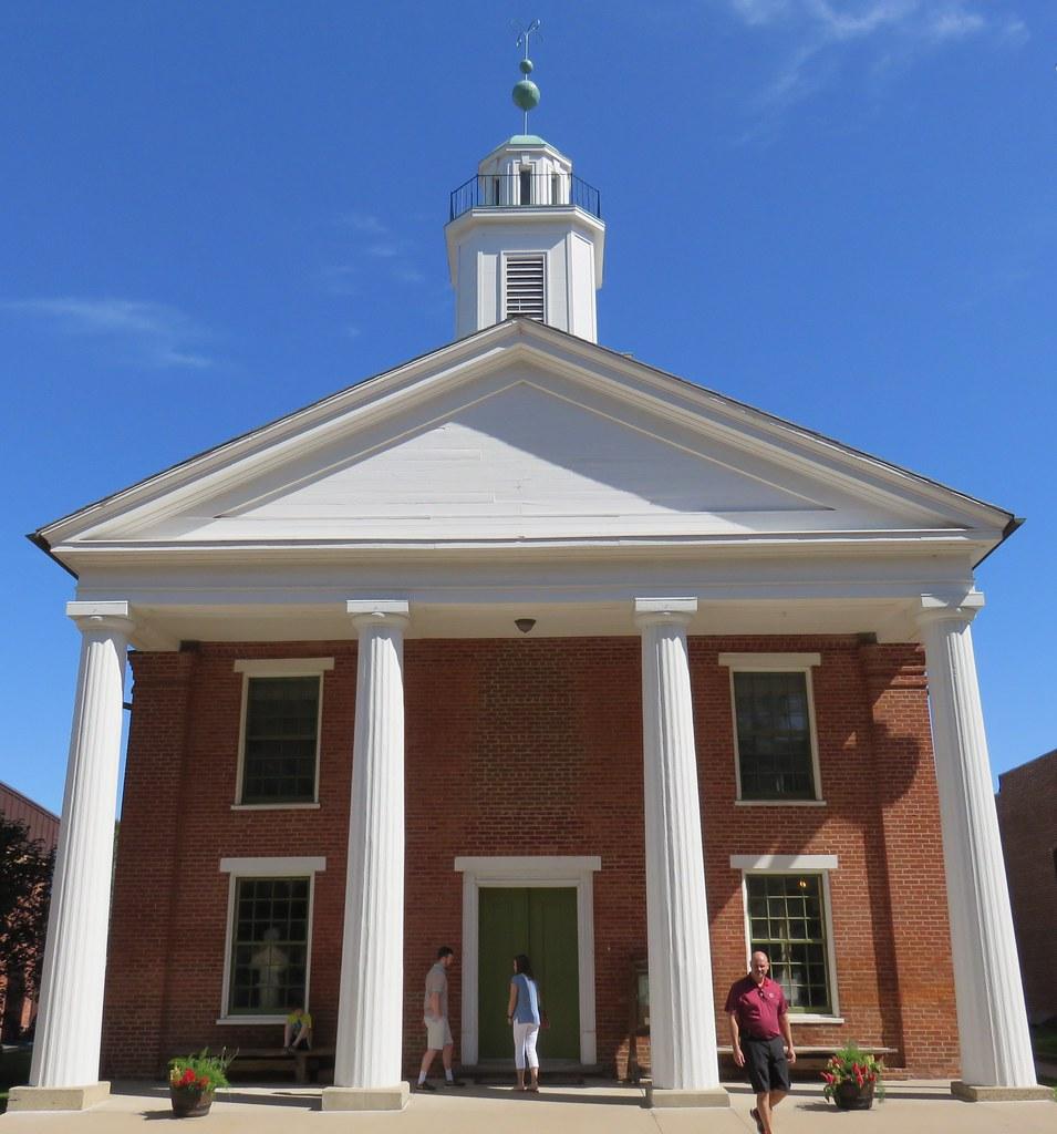 Illinois woodford county metamora -  Old Woodford County Courthouse Metamora Illinois By Courthouselover