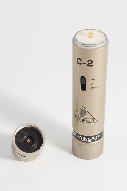 Behringer C-2 Capsule Removed