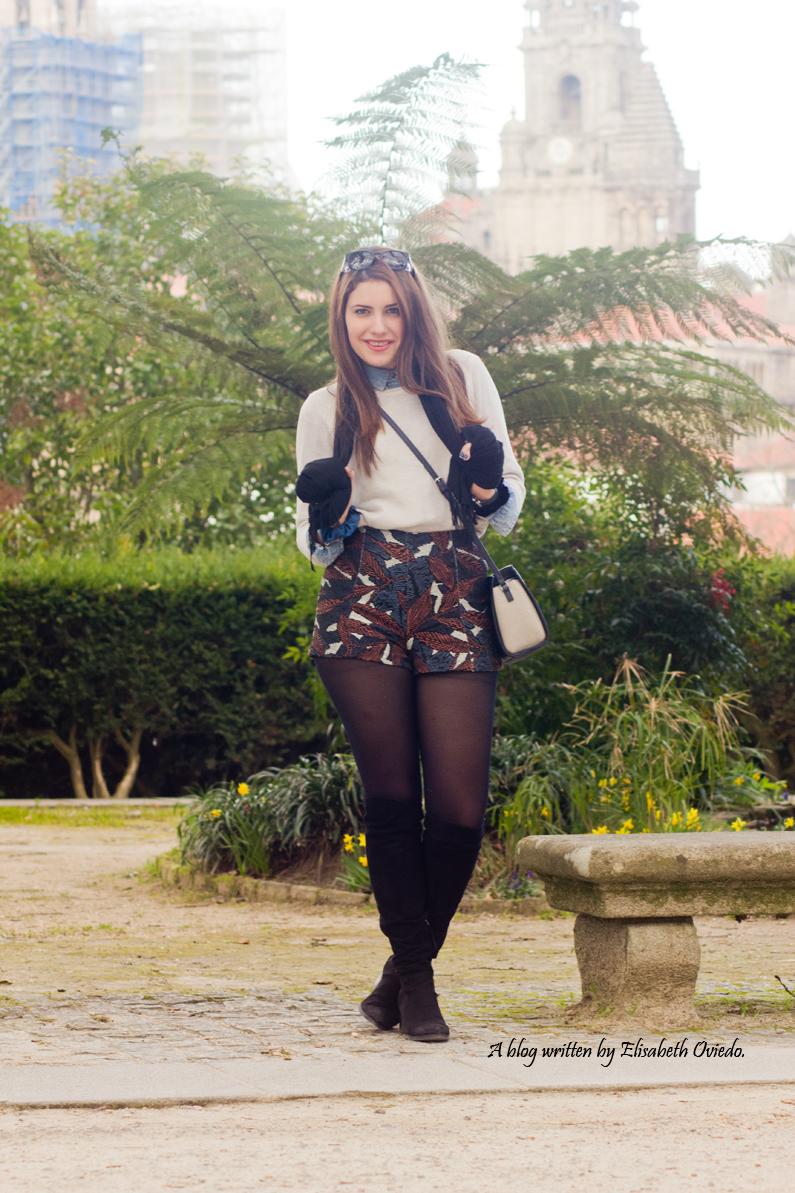 shorts zara santiago de compostela heelsandroses fashion blog (5)