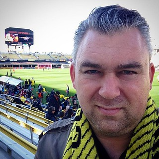 Tickets out of the sun sounded like a great idea in the summer, but not so much today.  A little frigid in the shade.  Nevermind me, though, let's go @columbuscrewsc! #glorytocolumbus | by Gus Dahlberg
