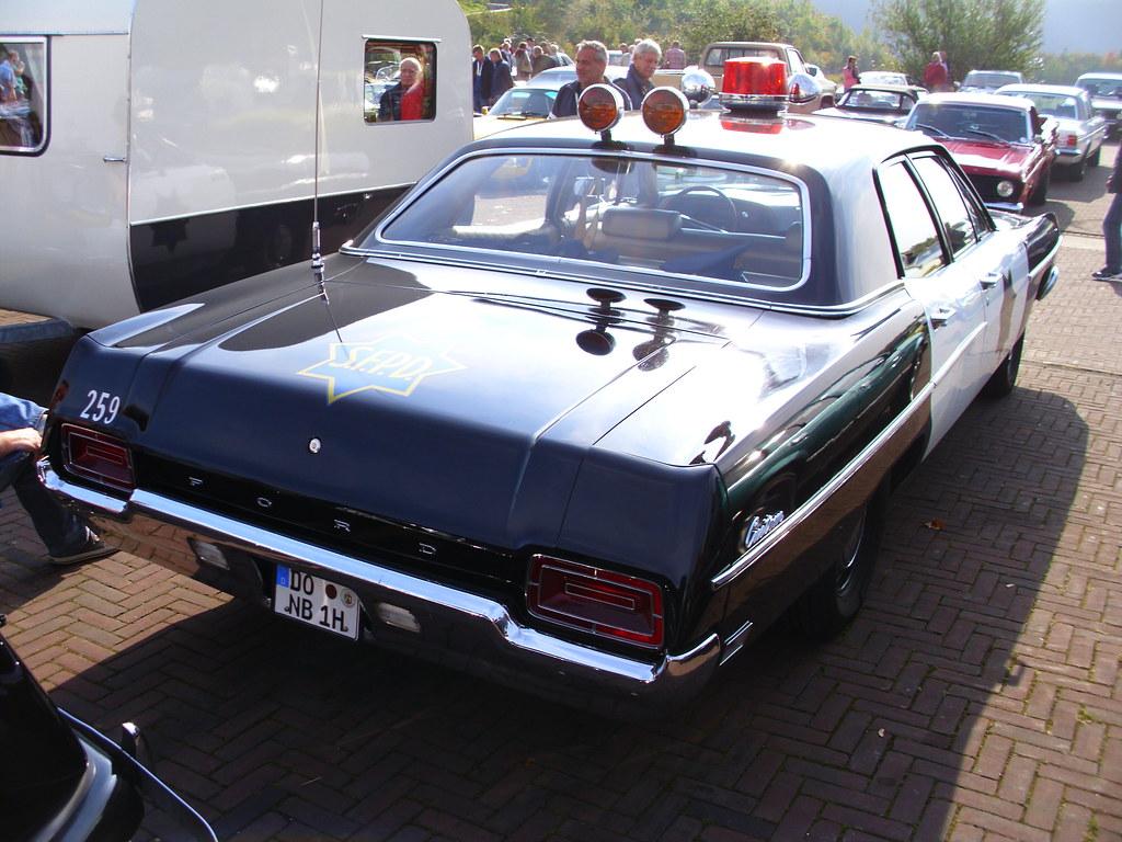Ford Galaxie Custom Sfpd Police 1970 Herten 2015 Hog Car By Zappadong
