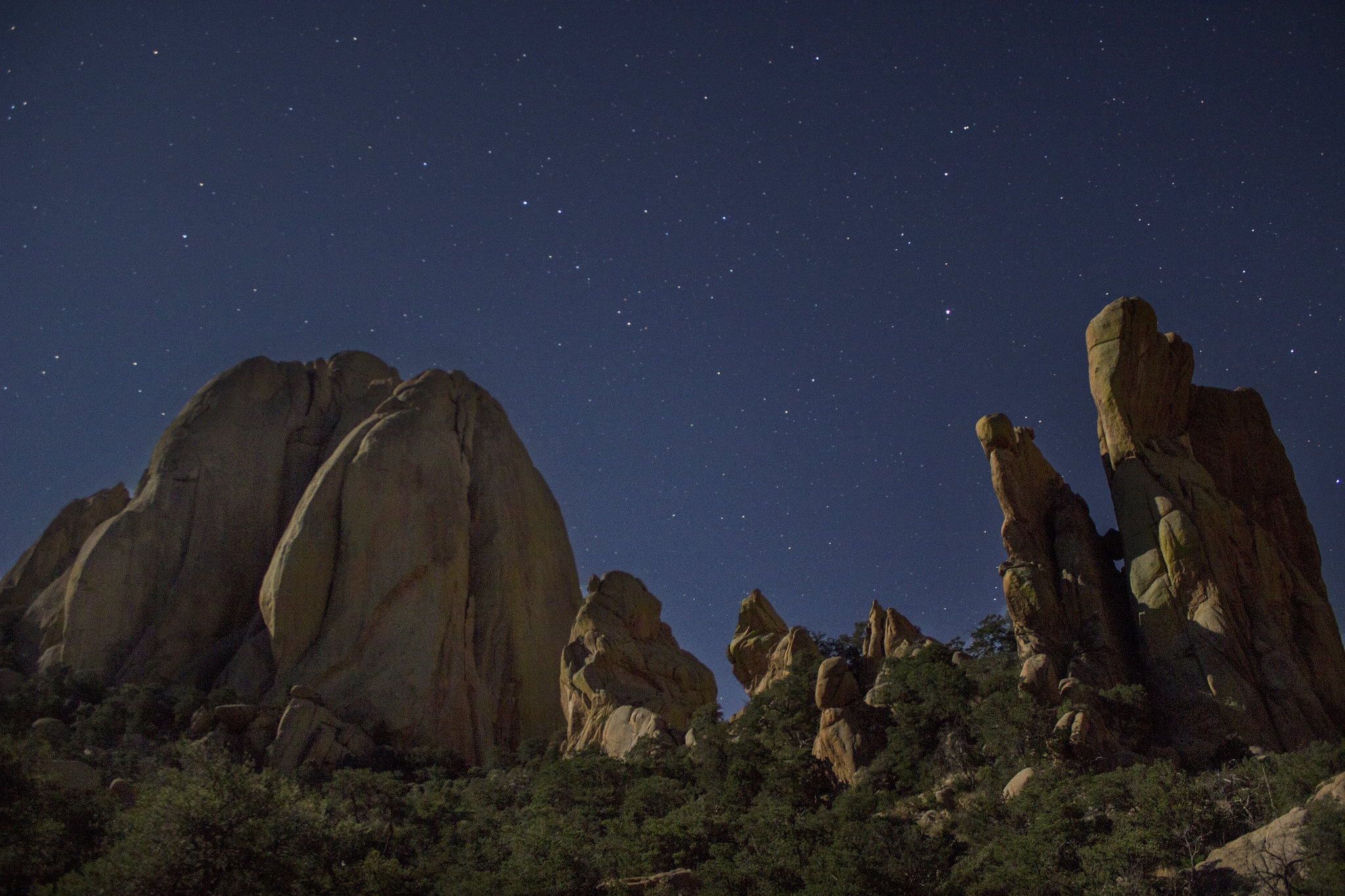 Cochise Stronghold Stars