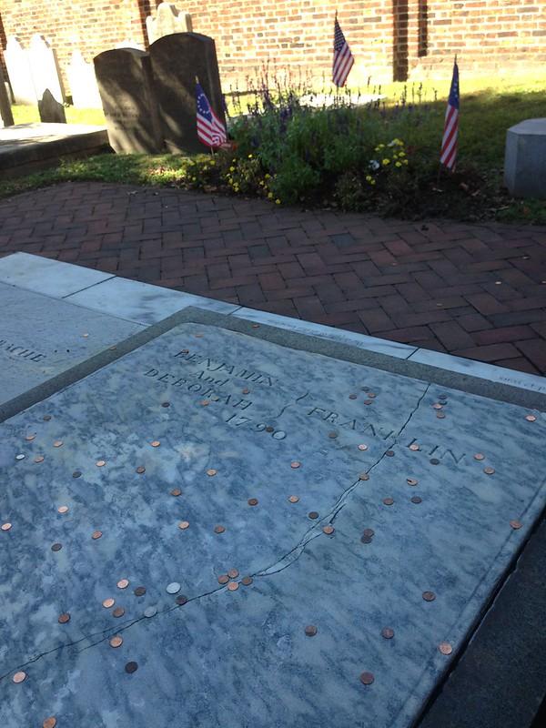 tomba Benjamin Franklin Philadelphia