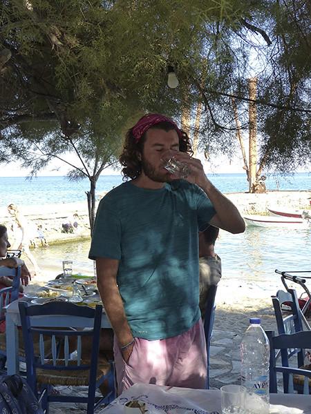 un dernier verre d'eau