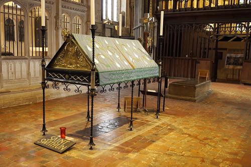 Memorial to St Swithun