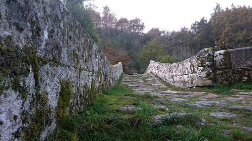 Ponte Taboada. Ponte e camiño