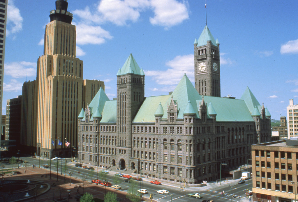 Historic Minneapolis City Hall And Courthouse