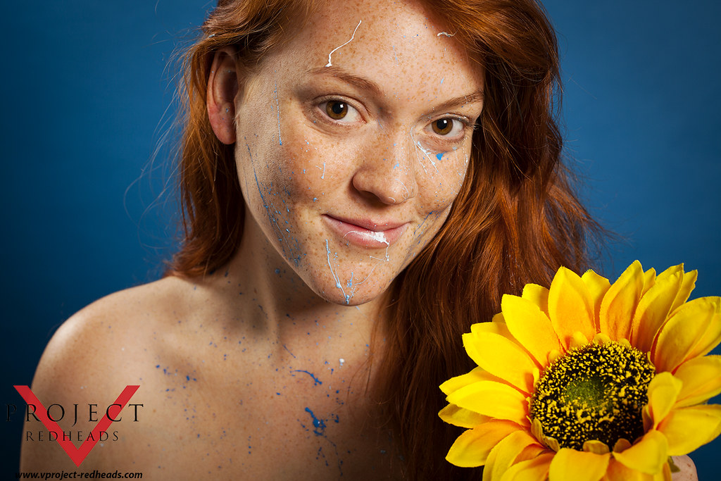 Natural redhead project very pity