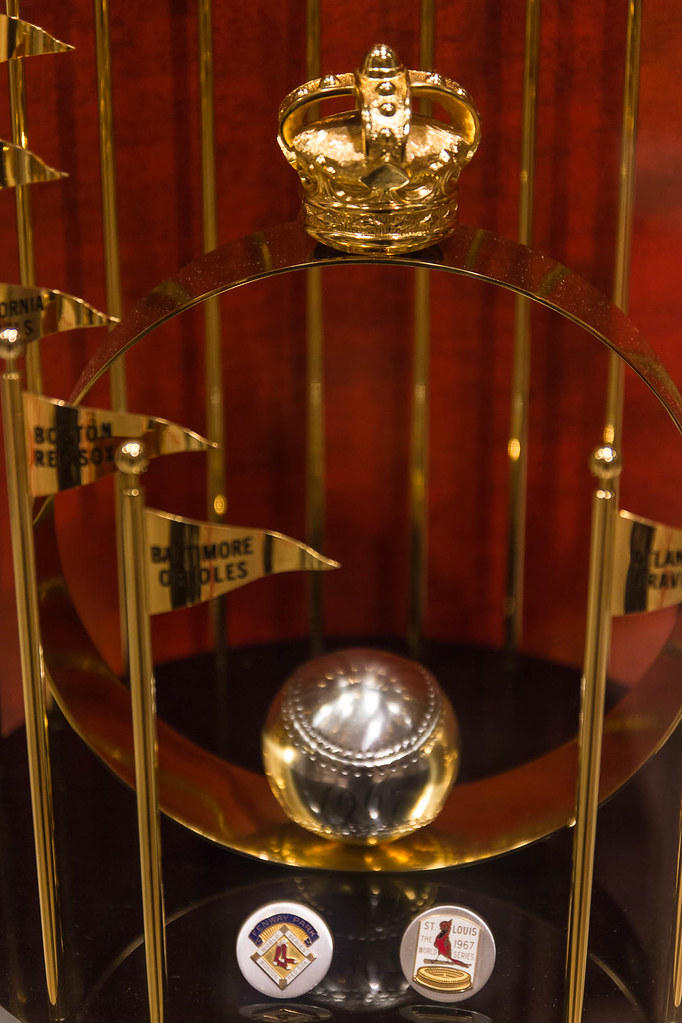 1967 World Series Championship Trophy
