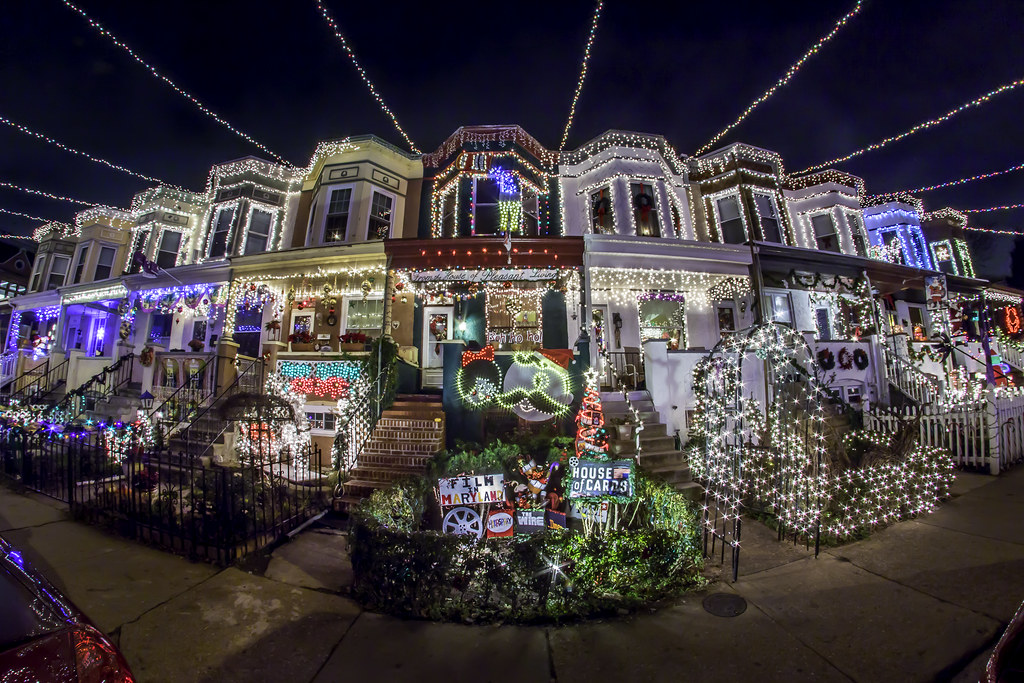 Baltimore's Miracle on 34th Street Christmas Lights | Flickr