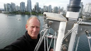 Mast Head Selfie Vancouver | by Sailing P & G