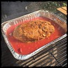 #PuertoRican #PulledPork #KamadoJoe #BBQ #homemade #CucinaDelloZio - place meat on BBQ and close lid!