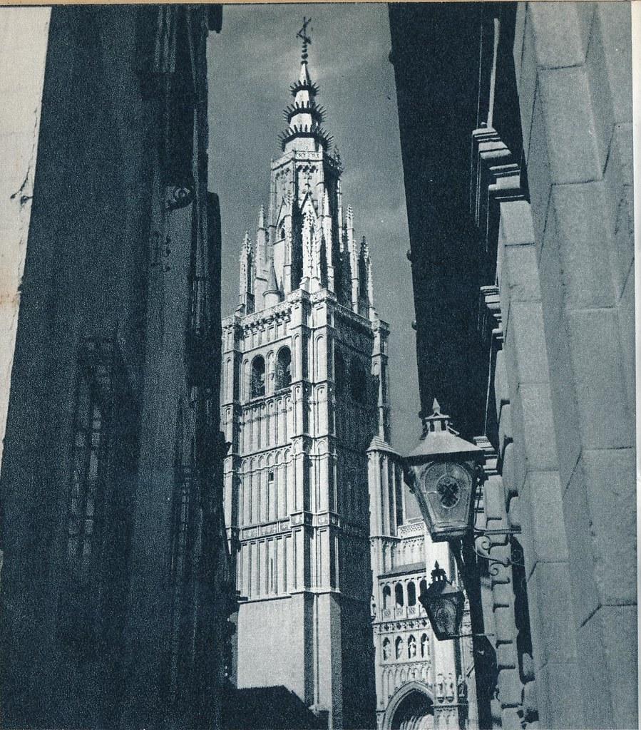 Catedral de Toledo en la primavera de 1955. Fotografía de Cas Oorthuys © Nederlands Fotomuseum, Rotterdam