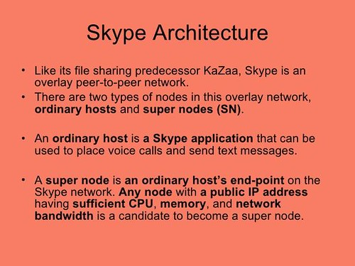 Kazaa to skype