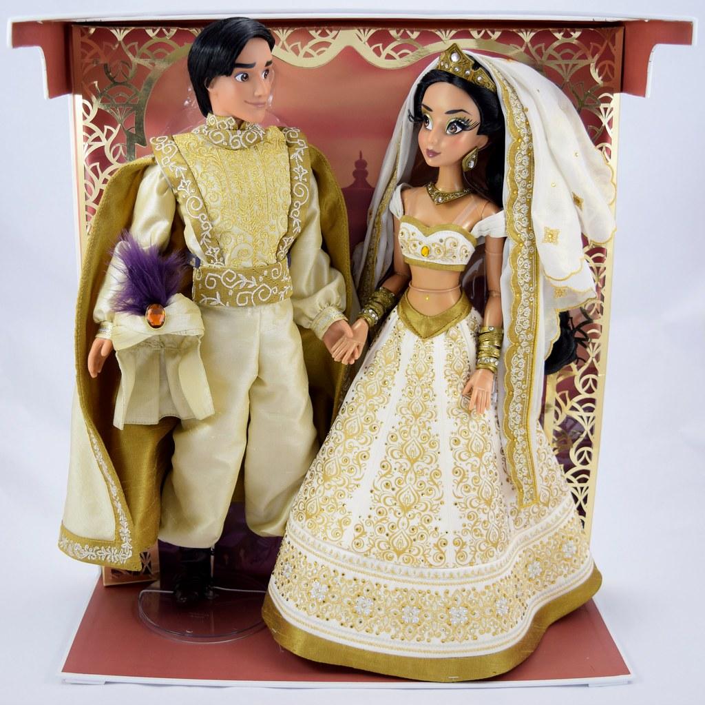 Limited Edition Aladdin and Jasmine 17\'\' Wedding Doll Set …   Flickr
