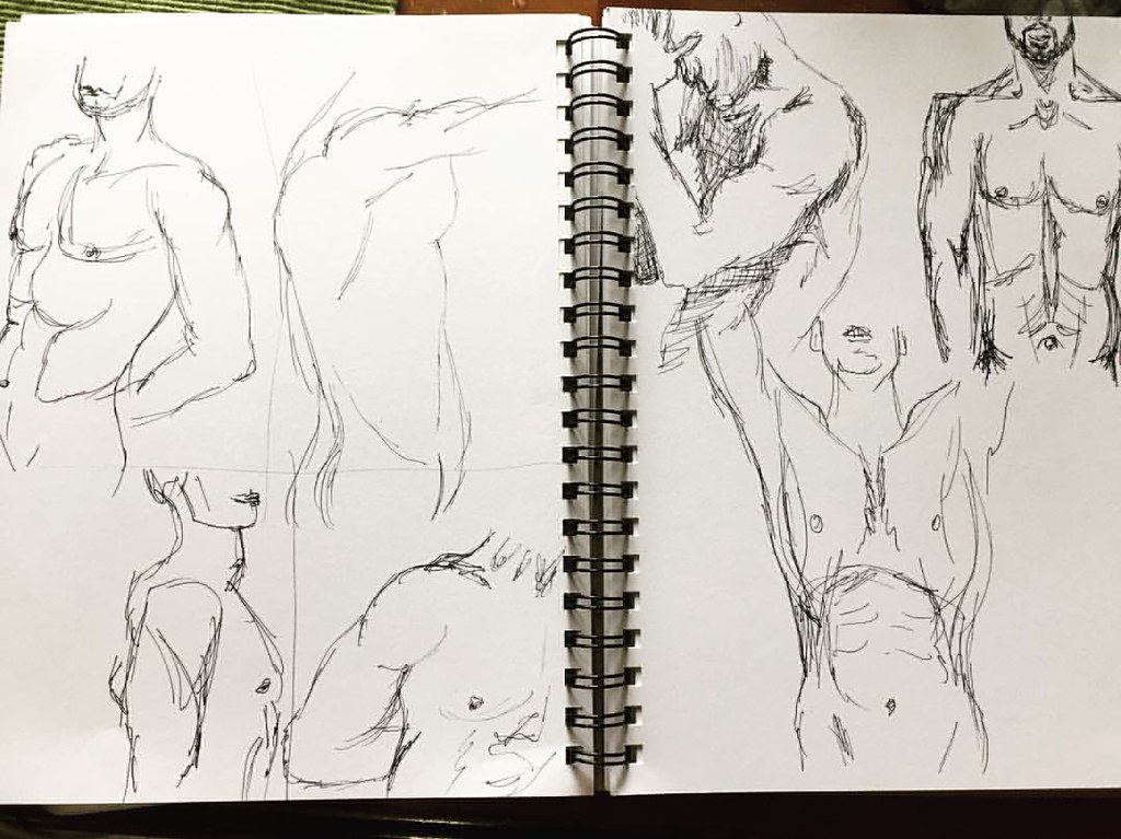Practice With Super Fast Figure Sketches Using Sarah Simbl Flickr