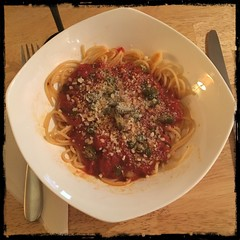 #Sugo All'#Arrabbiata #homemade #CucinaDelloZio - with Spaghetti!