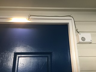 PIR sensor and LED light strip | by Christopher Biggs