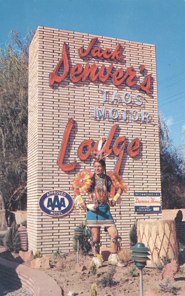 Jack Denver's Taos Motor Lodge - Taos, New Mexico