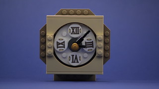 Clock | by brickomotion