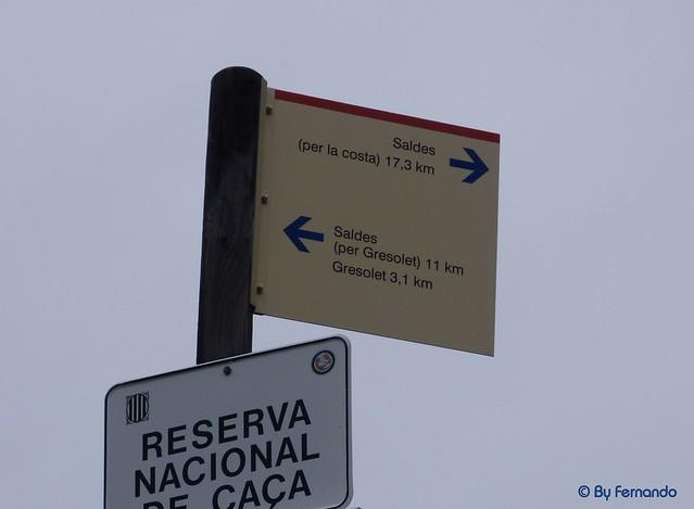Saldes, Gresolet, Saldes -02- Por La Costa -01- Indicador (06-10-2016)