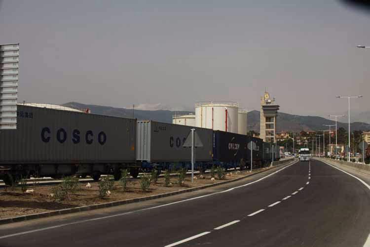 Ferrocarril tren renfe Puerto Algeciras 11