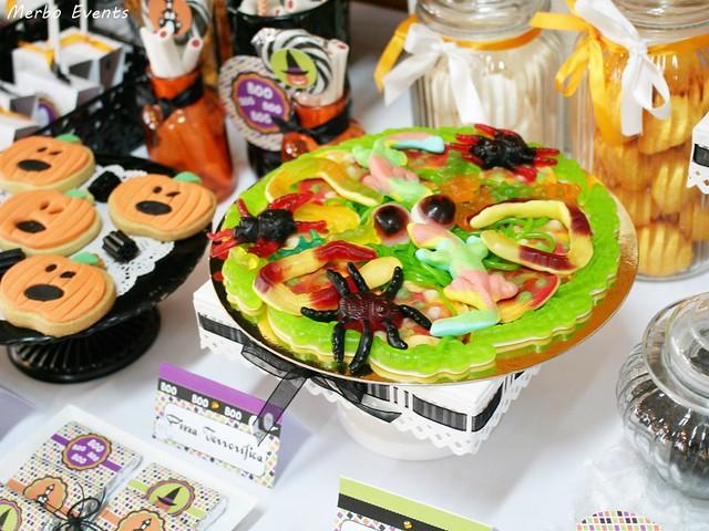 Fiesta Halloween 2016 Mesa dulce Merbo Events