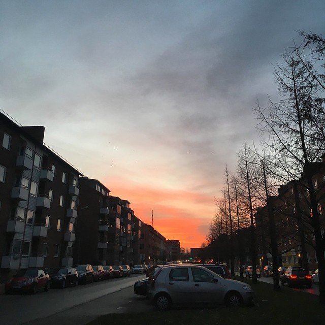sunrise, wednesday, helsingborg