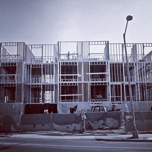 Construction at 12th & Florida NE. #Latergram #TrinidadDC