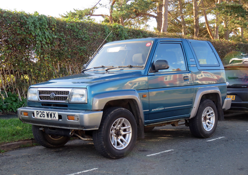 1997 Daihatsu Sportrak Riviera Cant Immediately Recall Th Flickr