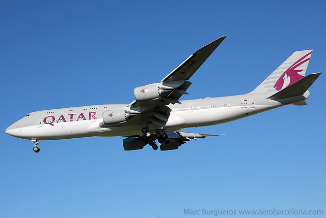 QATAR AMIRI FLIGHT B748 A7-HHE