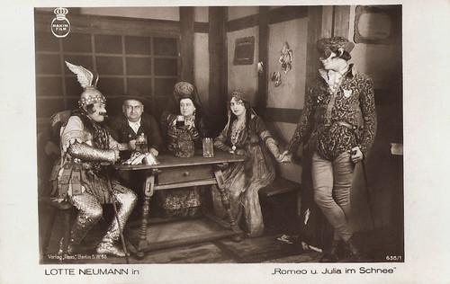 Lotte Neumann in Lubitsch's Romeo und Julia im Schnee