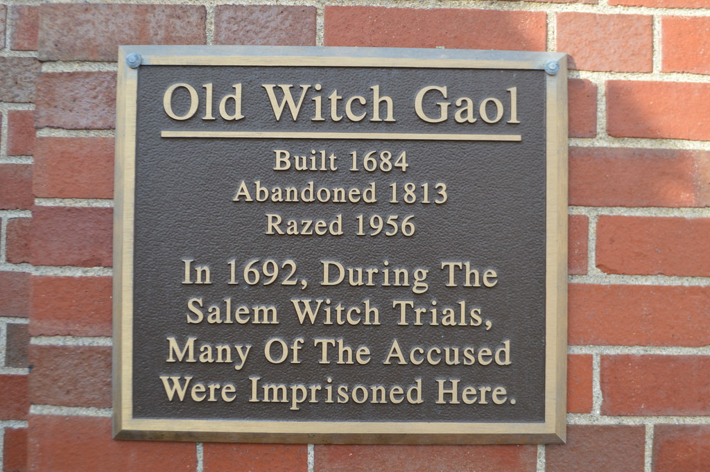 the salem witch trials of 1692 old witch gaol original j flickr